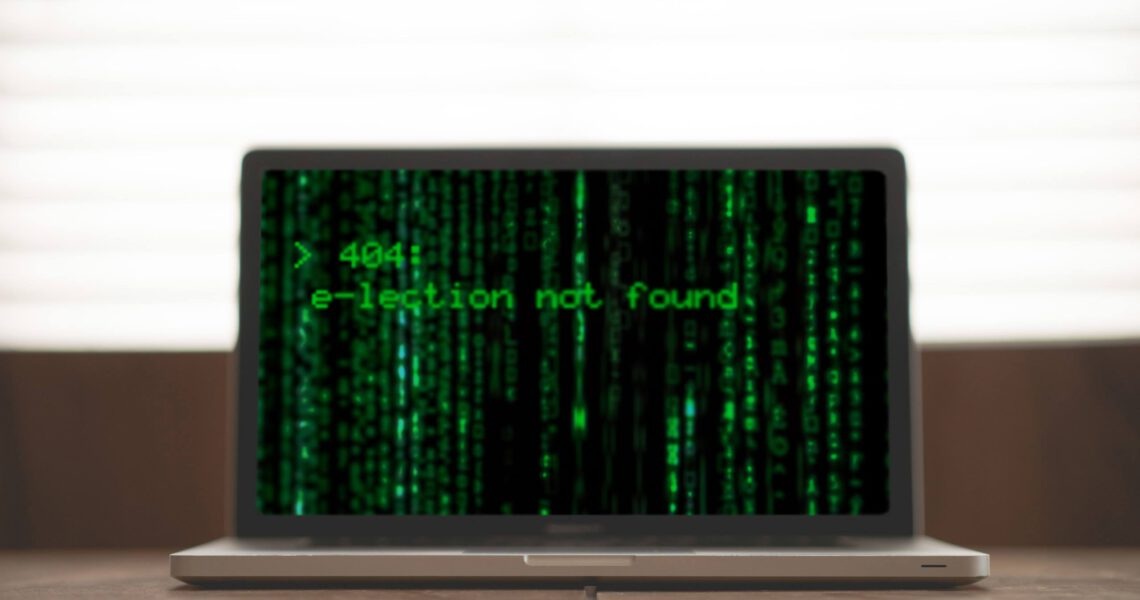 404: e-lection not found